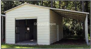 How To Add A Lean To On A Shed by Lean To Building Carport Empire