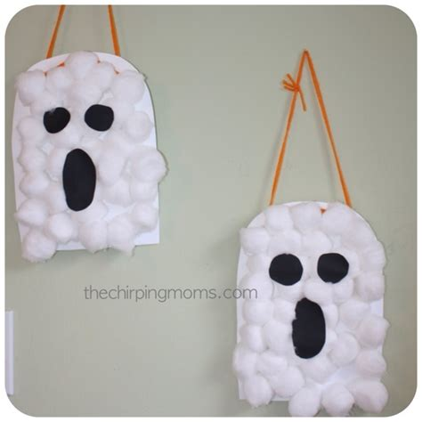 Halloween Ghost Crafts For Kids - halloween crafts and games for the kids cupcake diaries