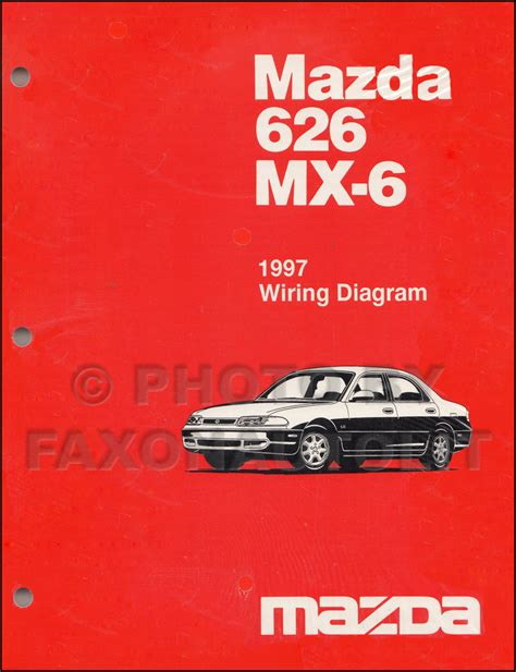 best car repair manuals 1987 mazda 626 navigation system mazda 626 wiring diagram service manual wiring diagram with description