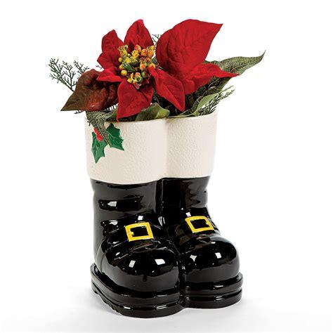 Santa Boots Planter active play