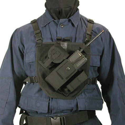 chest harness blackhawk patrol radio chest harness