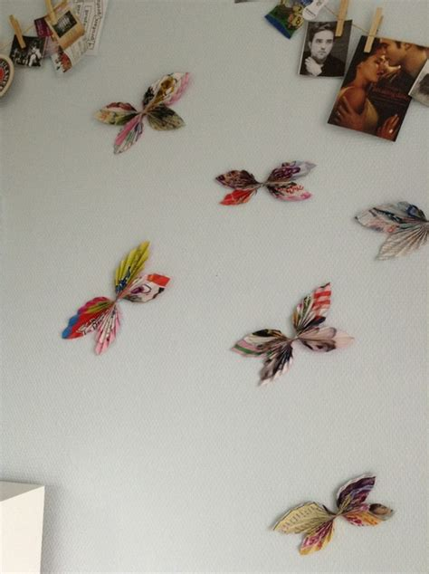 How To Make Paper Butterflies For Wall - how to make decorative paper butterflies for your wall