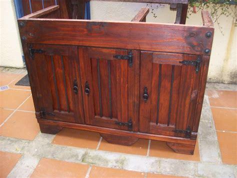 alacena de pino usadas bajo mesada de cocina madera maciza c hierro 9 800 00