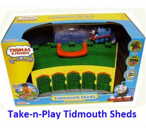 Take And Play Tidmouth Sheds by Collectors List Of Take N Play Trains Complete
