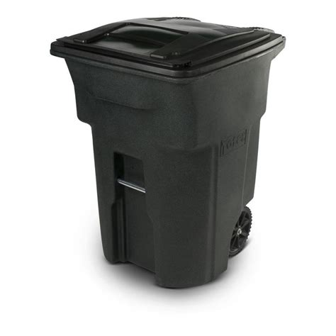 shop toter 96 gallon greenstone indoor outdoor garbage can