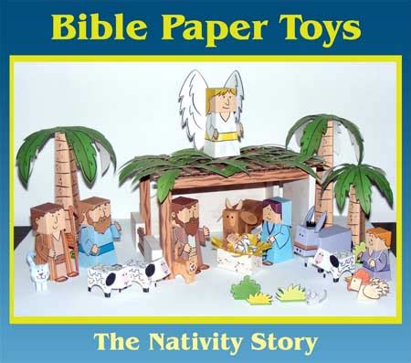 Nativity Paper Craft - bible papercraft quot nativity quot 2010