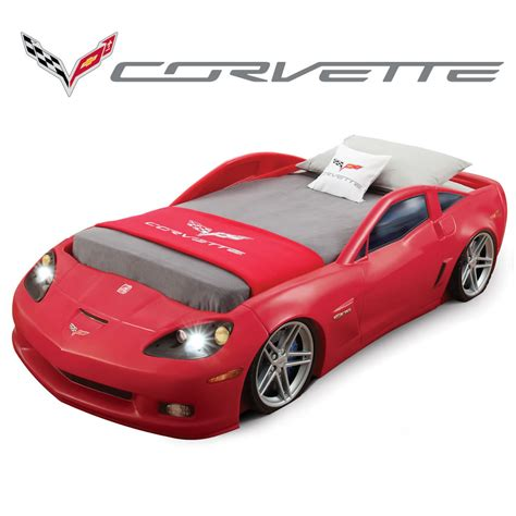 corvette bed toddler to bed with lights concepts