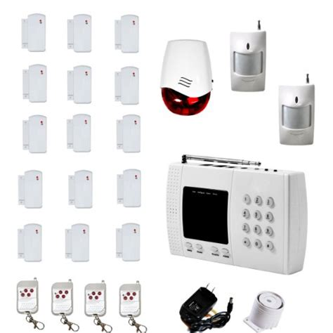 aas 300 wireless home security alarm system pet immune diy
