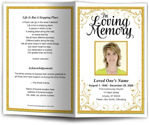 funeral program clipart 19 images funeral program