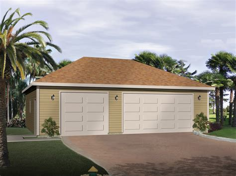 garage roof design lizette three car garage plan 059d 6017 house plans and more