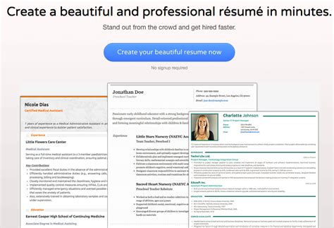 Visual Resume by 16 Free Tools To Create Outstanding Visual Resume