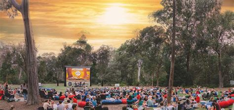 Sunset Cinema Botanic Gardens Imb Sunset Cinema Canberra By Sue W