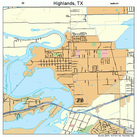 highland lakes texas map highlands tx pictures posters news and on your pursuit hobbies interests and worries