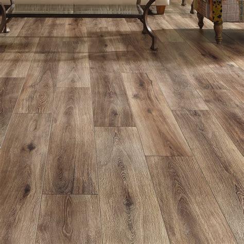mannington restoration wide plank     mm laminate flooring  brushed coffee