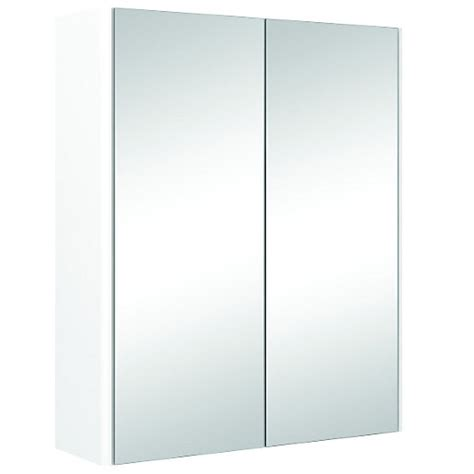 wickes bathroom mirror cabinets wickes bathroom semi frameless double mirror cabinet white 500mm wickes co uk