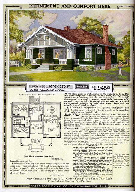 sears roebuck house plans sears kit home plans 171 floor plans