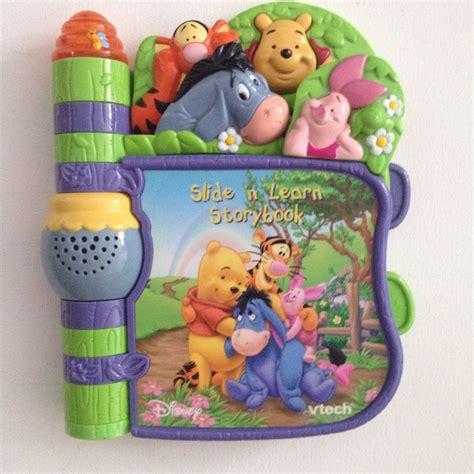 vtech disney baby story book winnie  pooh   learn interactive sounds winniethepooh