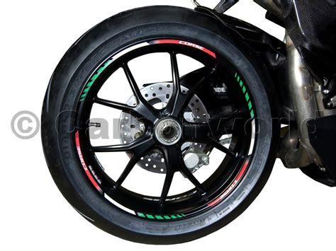 Ducati Aufkleber Ebay by Felgenrandaufkleber Aufkleber Corse F 252 R Ducati Ebay