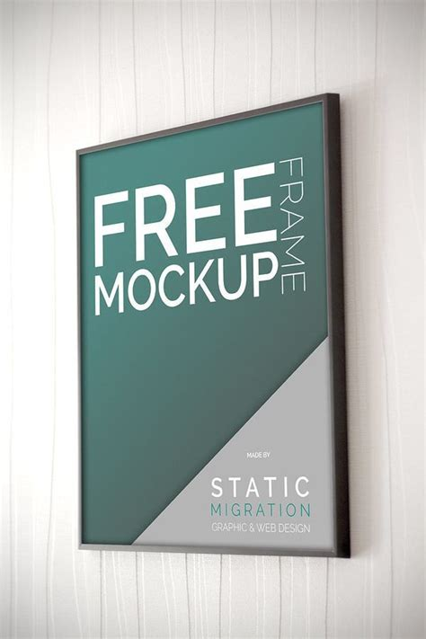 free poster mockup template 35 free vector psd image frame mockups