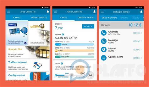 area clienti area clienti 3 l app ufficiale dell operatore 3 italia