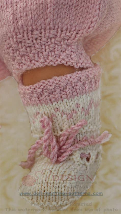 knitting pattern doll socks baby born doll cloths knitting patterns
