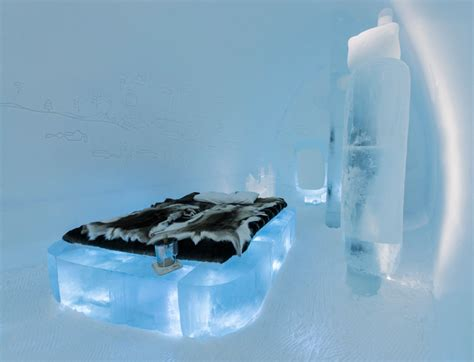 designboom icehotel mini evolution icehotel deluxe suite evokes ancient caves