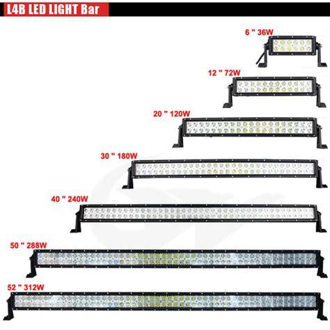 car led light bars lw hotsale 50 quot 288w waterproof flood spot combo beam l