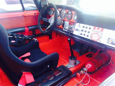 porsche race car interior consider trade 1971 911 s vintage race car for low hour