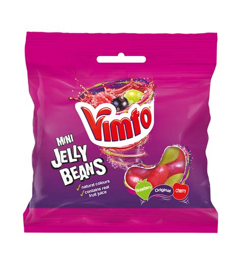 Jelly Mini vimto mini jelly beans hit shelves savoury snacks world