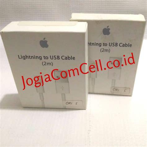Wellcomm Kabel Data Ori Iphone 5 S D Iphone X kabel data iphone 5 dan 6 lightning usb ori s 2m