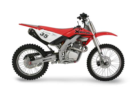 red dirt bike dirt bike xzr250 xb 35 21 quot 18 quot red