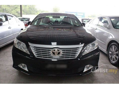 Camry V 2 5 At 2013 toyota camry 2013 v 2 5 in johor automatic sedan black for