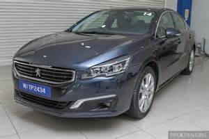 Peugeot 508 Facelift Gallery Peugeot 508 Thp Facelift In Showrooms