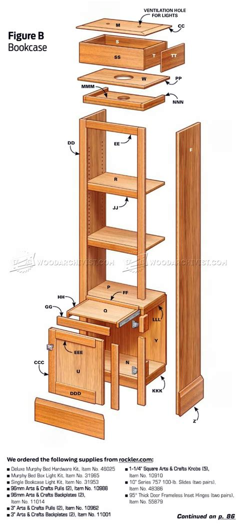 how to build a murphy bed free plans build murphy bed woodarchivist