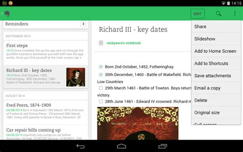 evernote web clipper android evernote for android free the freeware shareware and trial software