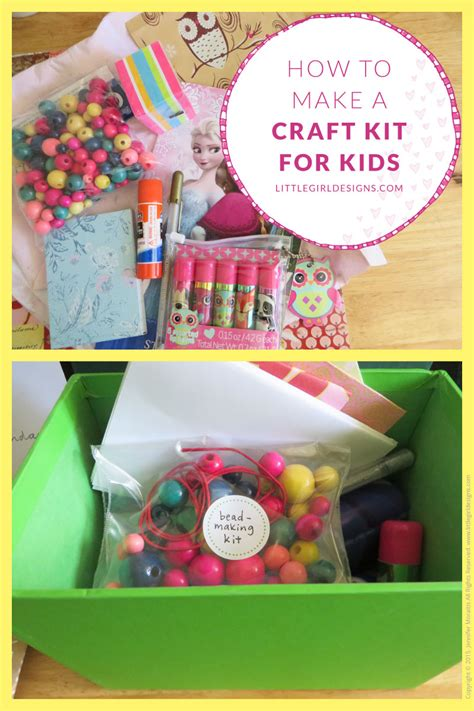kid craft kit how to make a craft kit for designs