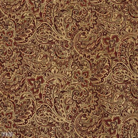 large floral upholstery fabric tuscany coral and gold large floral chenille upholstery fabric