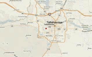 florida map tallahassee tallahassee location guide