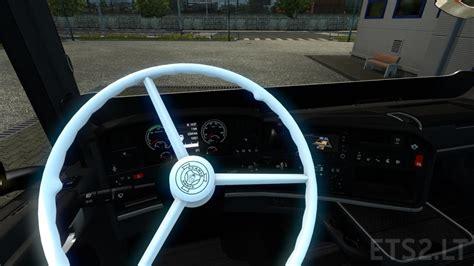 scania steering wheel vabis steering wheel for scania rjl ets 2 mods