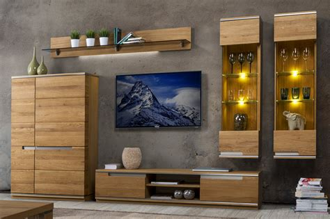 Living Room Wall Units Furniture Torino Szynaka Wall Unit Furniture Set For Living Room Szynaka Modern Furniture In