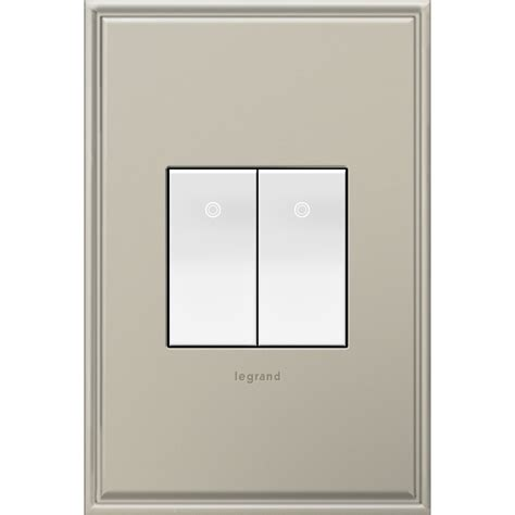 Paddle Light Switch by Shop Legrand 15 Adorne Paddle White 3 Way Square Light