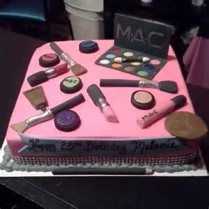 mac makeup birthday cake birthday cakes pinterest