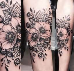 the 25 best lace tattoo ideas on pinterest thigh piece