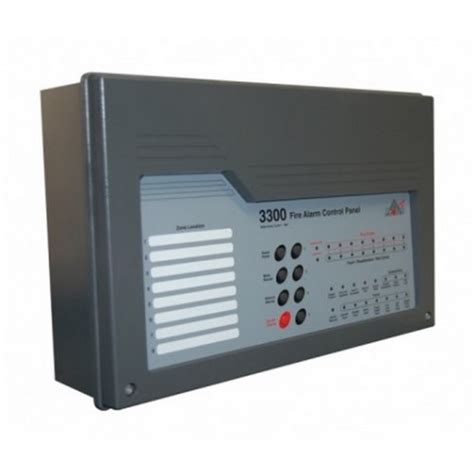 protec 3308 conventional alarm panel 8 zone