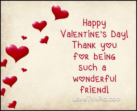 wonderful friend  valentines day pictures