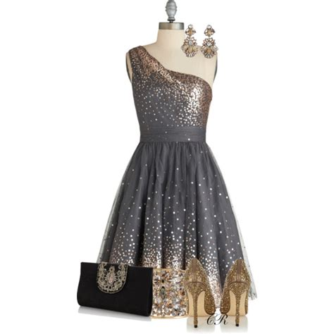 ModCloth Formal Dress   Polyvore