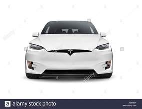 Electric Car Tesla Stock White 2017 Tesla Model X Luxury Suv Electric Car Front