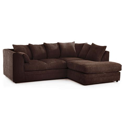 cord fabric sofa chicago jumbo cord corner sofa next day delivery chicago