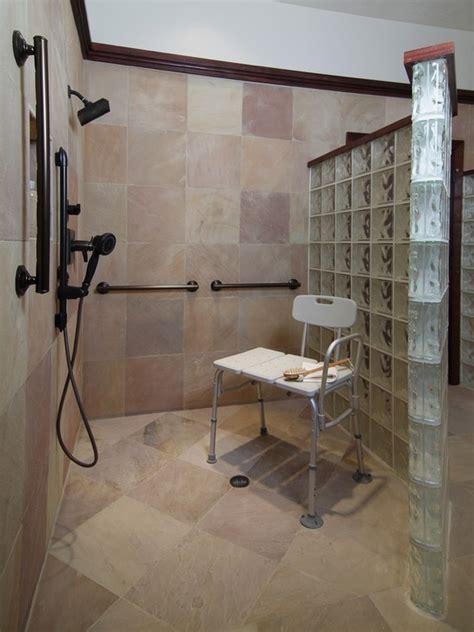 Handicap Shower Door 106 Best Images About Bathroom Walk In Shower On Pinterest Traditional Bathroom Walk In