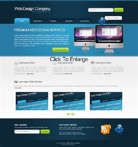 home page design layout homepage design layout